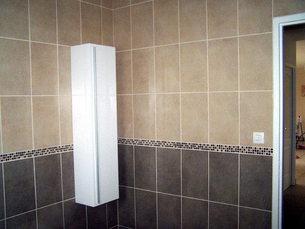 Autocollant carrelage salle bain for Carrelage paris